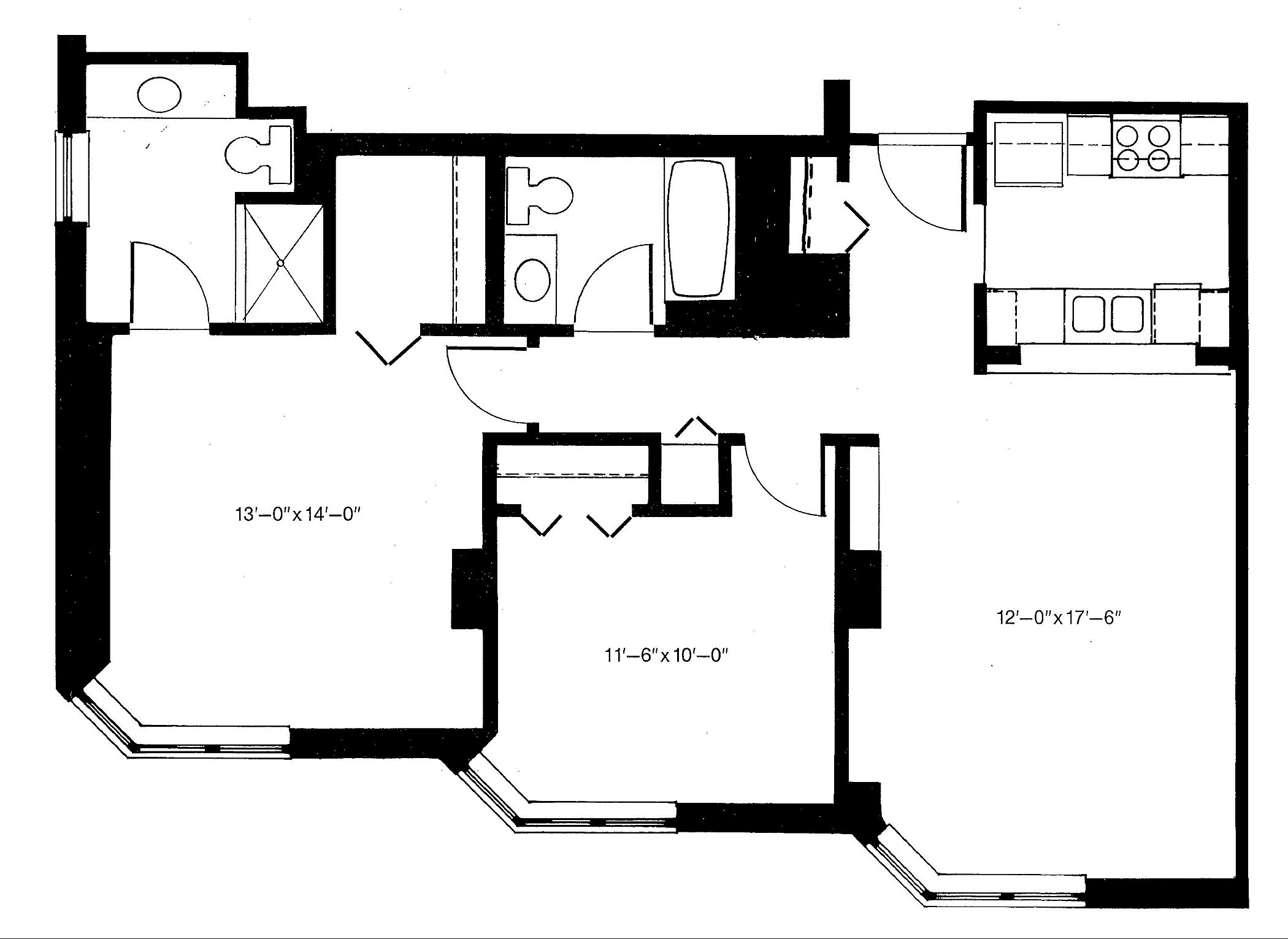 Apartment floorplans riverpoint senior living Canterbury floor plan